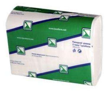 Полотенца бумажные Z-типа, 200шт